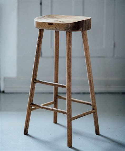 Wooden Island Stools by Simple Wooden Stool Wishlist Wooden Bar Stools Oak