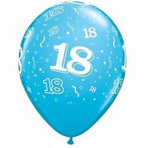 Anniversaire 18 Ans Deco : ballon anniversaire 18 ans ~ Preciouscoupons.com Idées de Décoration