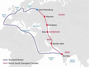 North-South transport corridor may eliminate shipping lines