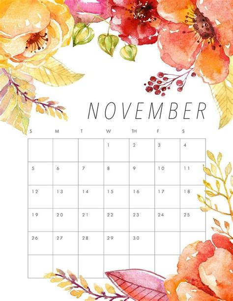 printable calendars planners lists