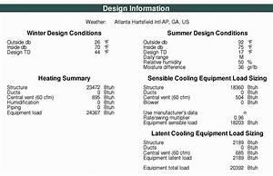 Manual D Spreadsheet Inside Residential Hvac Load