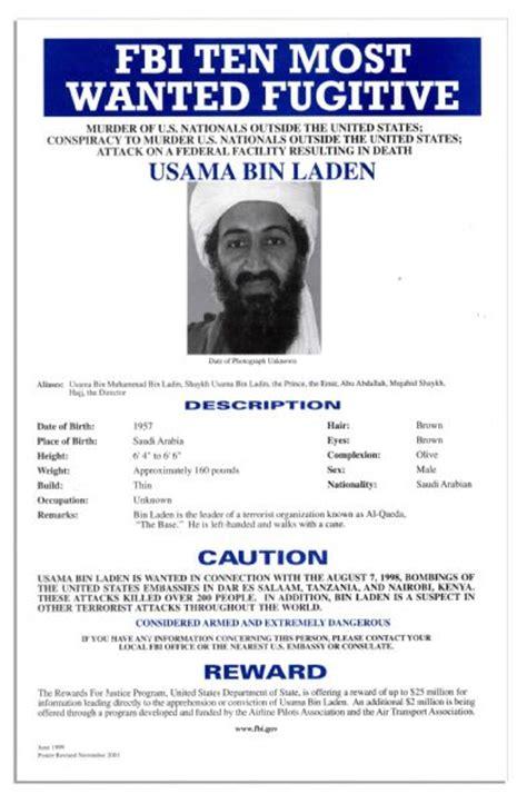 lot detail original fbi ten  wanted poster