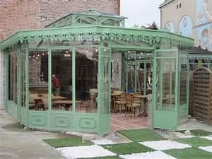 Véranda Fer Forgé : conception et cr ation restaurants kiosques brasseries ~ Premium-room.com Idées de Décoration