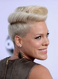 Short Pompadour Hairstyle for Women