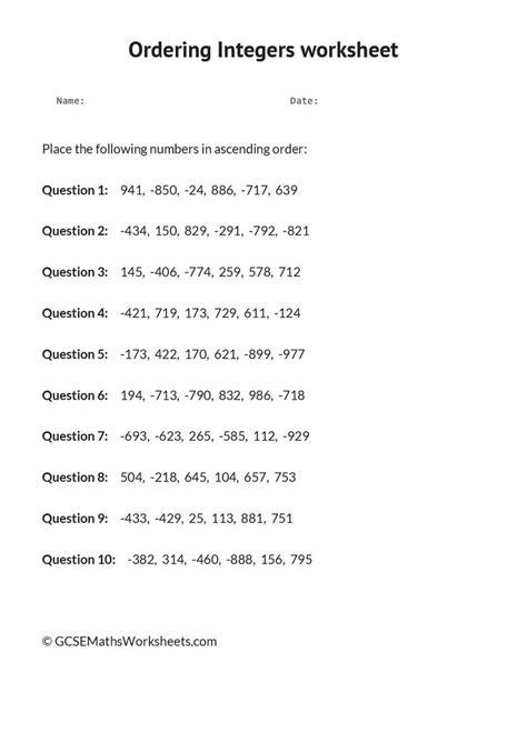 1000+ Images About Gcse Maths Worksheets  Number On Pinterest  Fractions, Fractions Worksheets