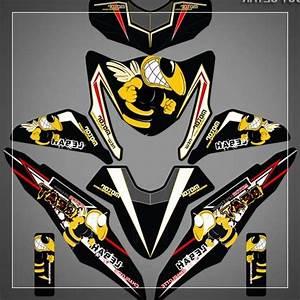 20 Kumpulan Variasi Stiker Motor Honda Beat Modifikasi