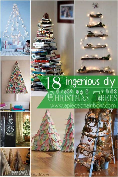 ingenious diy christmas trees recyclart