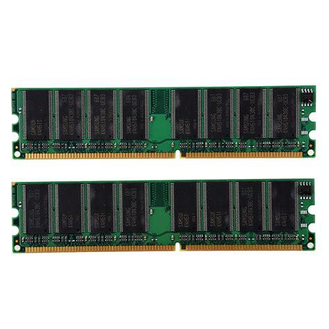 2gb(2x1gb) Ddr 400 Mhz Pc3200 Pc3200u Nonecc Desktop Pc