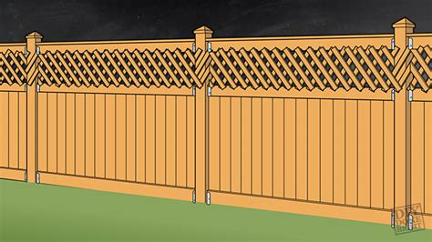 wood fencing diy