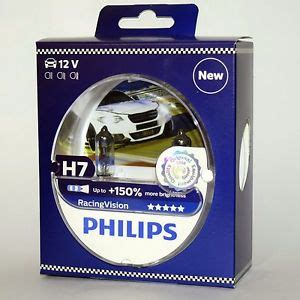 philips xtreme vision h7 h7 philips racingvision 150 12972rvs2 racing vision x treme ebay