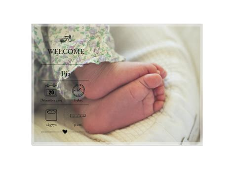 les plus jolis faire parts de naissance photo 224 cr 233 er en