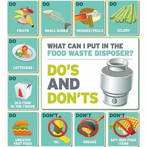 Things Not To Put Down Your Sink Garbage Disposal