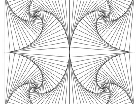 Get This Printable Geometric Coloring Pages Online 76696