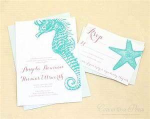 best 25 seahorse wedding ideas on pinterest seahorse With wedding invitations delray beach