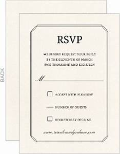 beautiful formal double frame wedding thank you card With wedding invitation rsvp time frame
