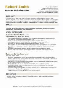 Customer Service Associate Job Description Resume Customer Service Team Lead Resume Samples Qwikresume