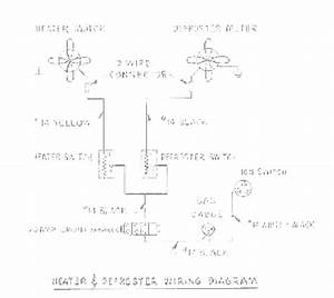 Heater And Defroster Wiring Diagram For 1955 Studebaker Champion And Commander  59651