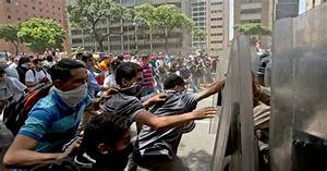 Anti-Government Protests in Venezuela Turn Violent - The ...