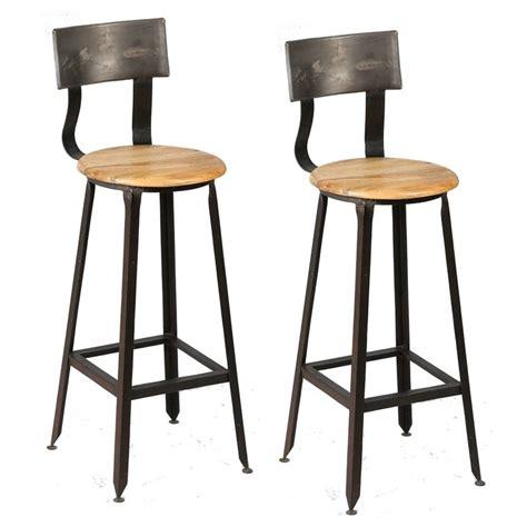 alinea chaises de cuisine chaise bar metal design en image