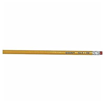 Dixon ® Woodcase Pencil HB-Soft No. 2 Lead Yellow
