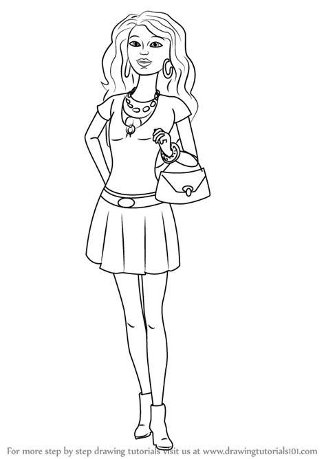 Kleurplaat Skipper by In The Dreamhouse Coloring Pages Coloring Pages