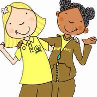 Brownies Brownie Guides Scouts Girlguides 1st Cartoon