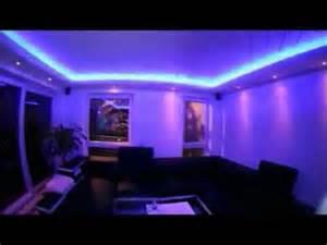 wohnzimmer decke beleuchtung led decke indirekte beleuchtung