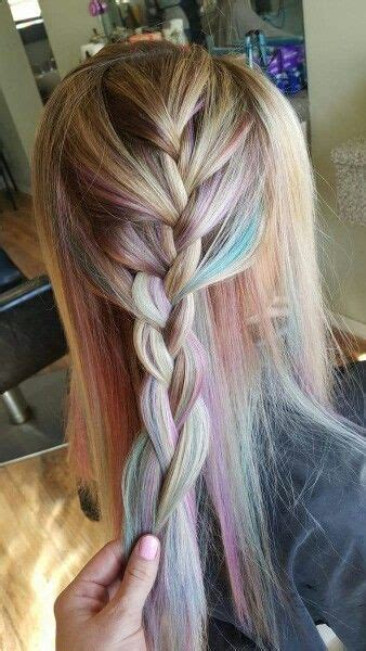 expressive opal hair color   occasion