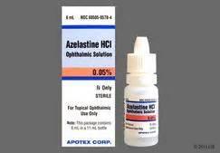 Azelastine Hydrochloride 0.05% Ophthalmic Solution Azelastine Nasal Spray