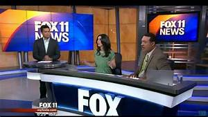 KTTV News Anchors React To Los Angeles Earthquake Of 4.4 ...