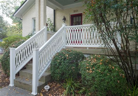 Porch Handrails by The Cathedral Scroll Panel The Porch Company