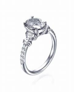 oval cut diamond antique vintage engagement rings mount With vintage oval wedding rings