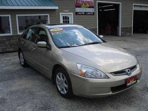 Honda Accord Sales by 2003 Honda Accord For Sale Carsforsale