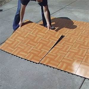 Tap dance floor kit 9 tiles for Fold out dance floor