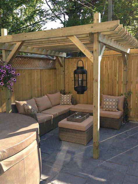 small backyard renovation ideas 24 inspiring diy backyard pergola ideas to enhance the outdoor life amazing diy interior