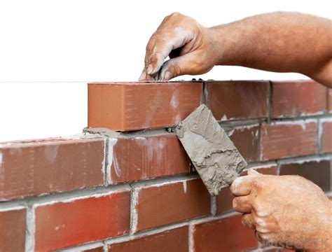 different ways to lay brick what are the different types of brick construction