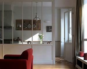 Verriere Interieure Metallique : une verri re d 39 atelier ~ Premium-room.com Idées de Décoration