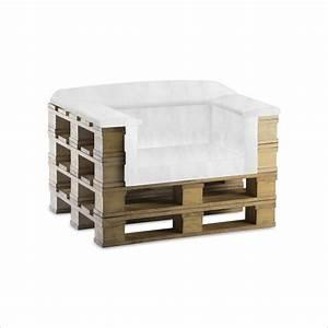 comment faire un fauteuil avec des palettes maison With carrelage adhesif salle de bain avec main courante led intégré