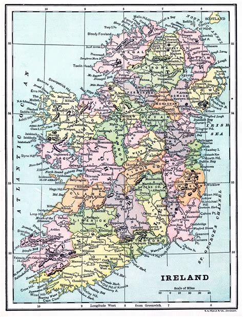 instant art printable map  ireland  graphics fairy