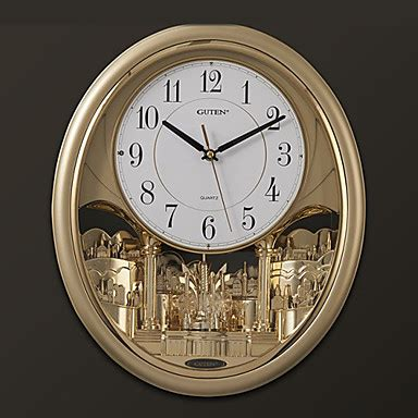 quot h modern style melody light controlled wall clock