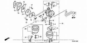 Honda Engines Gxv50 Sa  B Engine  Jpn  Vin  Gjag
