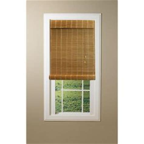 roll up bamboo blinds hton bay nutmeg simple weave bamboo roll up shade 31