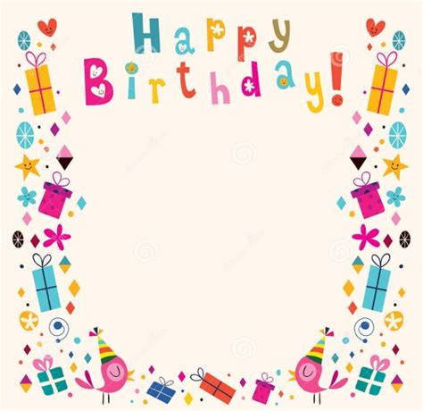 birthday cliparts vector eps jpg png design