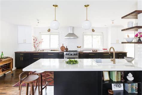 midcentury modern open concept kitchen hgtv faces  design hgtv