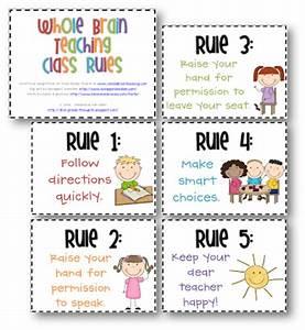 Burd, Kimberly / Classroom Rules