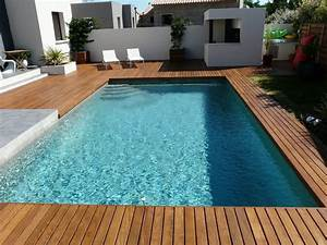 Piscine Sans Margelle : 25 best ideas about margelle de piscine on pinterest ~ Premium-room.com Idées de Décoration