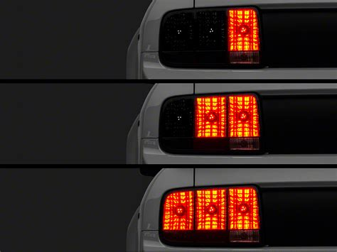 05 mustang sequential tail lights raxiom mustang led sequential tail light kit plug and