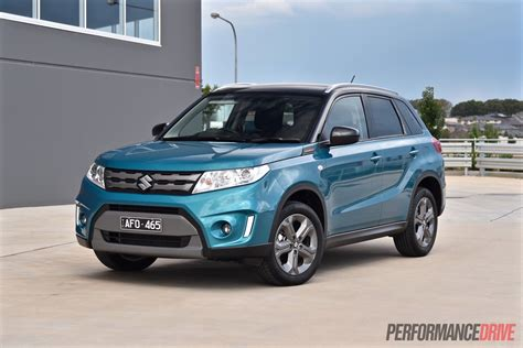 suzuki vitara rt  review video performancedrive