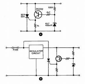 Simple Crowbar Circuit Diagram