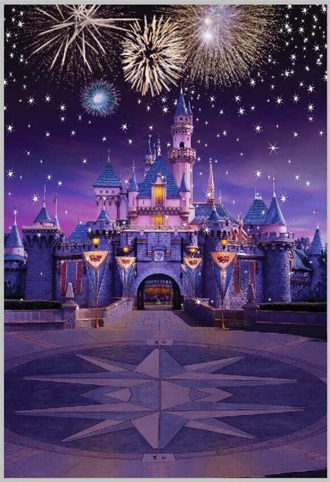 Disney Photo Backdrop by 5x7ft Fireworks Disney Castle Custom Photo Studio
